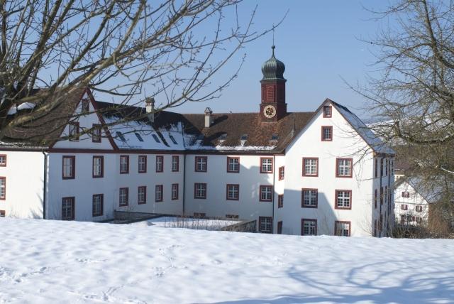Propstei Wislikofen im Winter