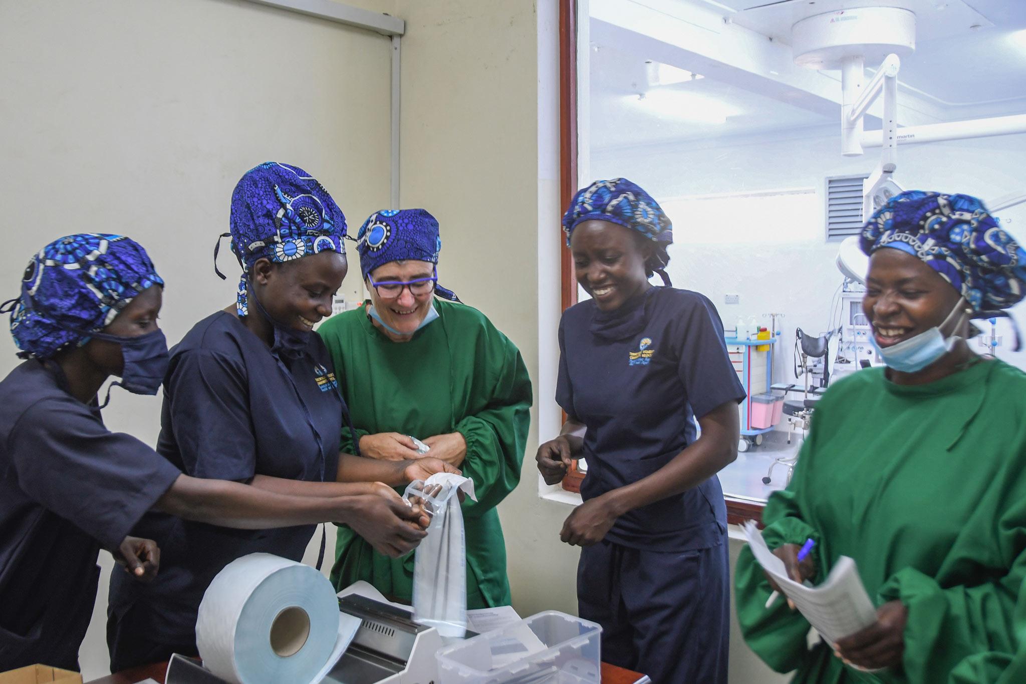 instrumentenaufbereitung Fistula Hospital