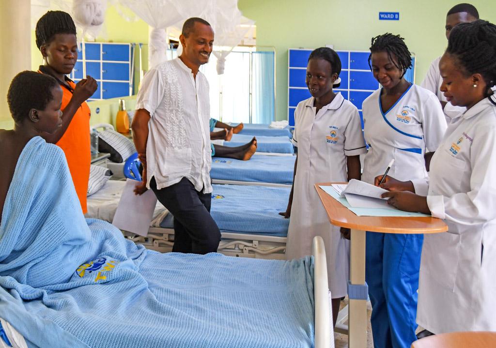 Dr. Fekade Visite Fistula Hospital Uganda