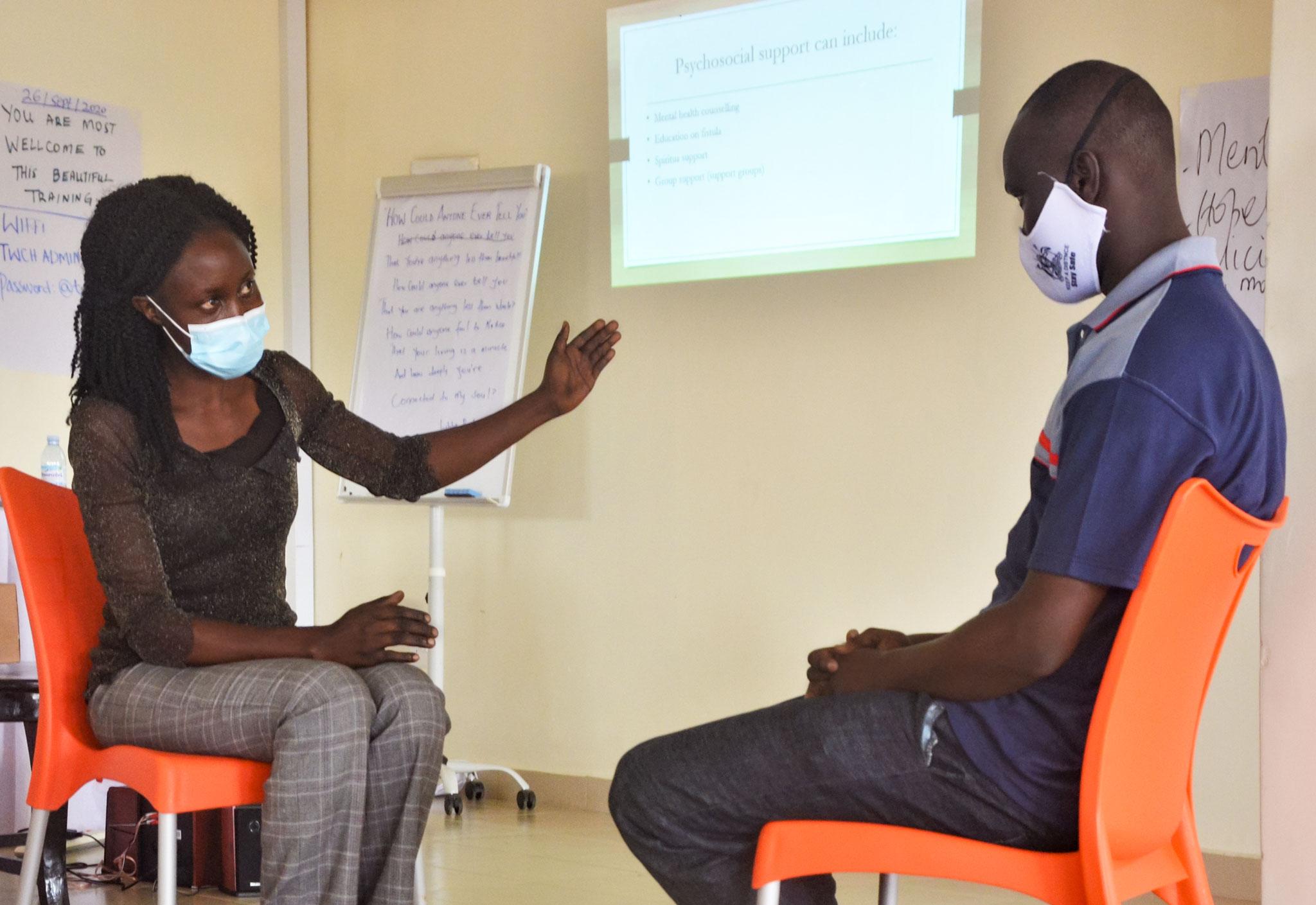 psychologe für Terrewode Uganda