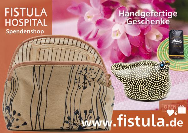 Fistula Kunsthandwerk und Spendenshop