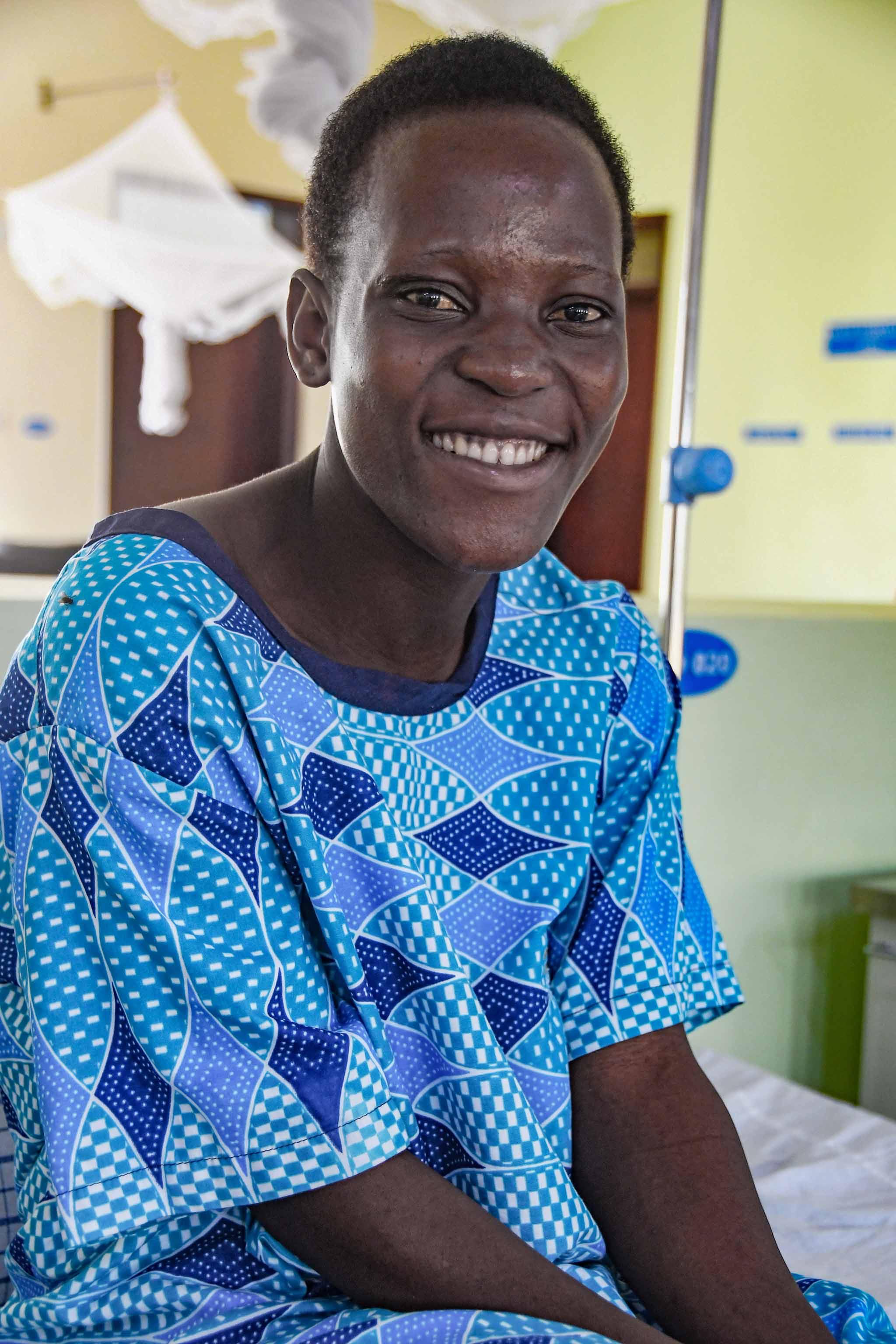 physiotherapie für Terrewode Uganda