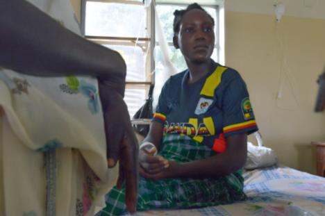 Sharon Akello, Entbindungsstation des Soroti District Hospital
