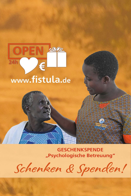 Fistula Online Spenden-Shop