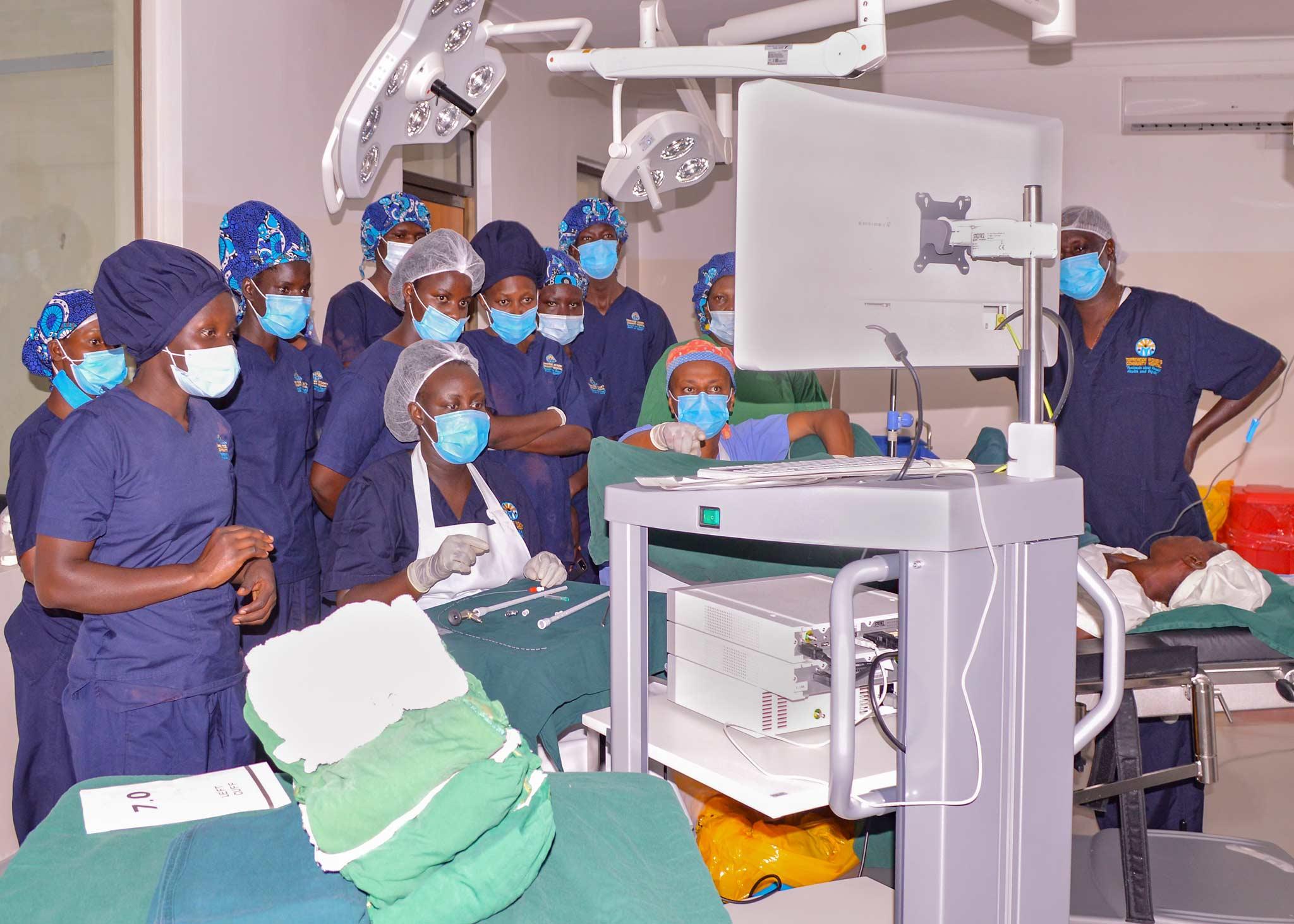 Fistula OP in Terrewode Uganda