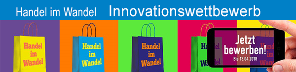 Handel im Wandel - Innovationswettebwerb