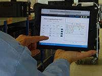 ITK Engineering / Sennheiser Logistik App in Aktion