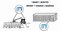 Planung und Steuerung von Supply Chains durch die Integration von Smart Objects, Blockchain-Technologie und Smart Payment. © Fraunhofer IML