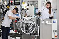 Ist-Zustand in der Getriebemontage beim Anwender ZF, Quelle: ZF Friedrichshafen