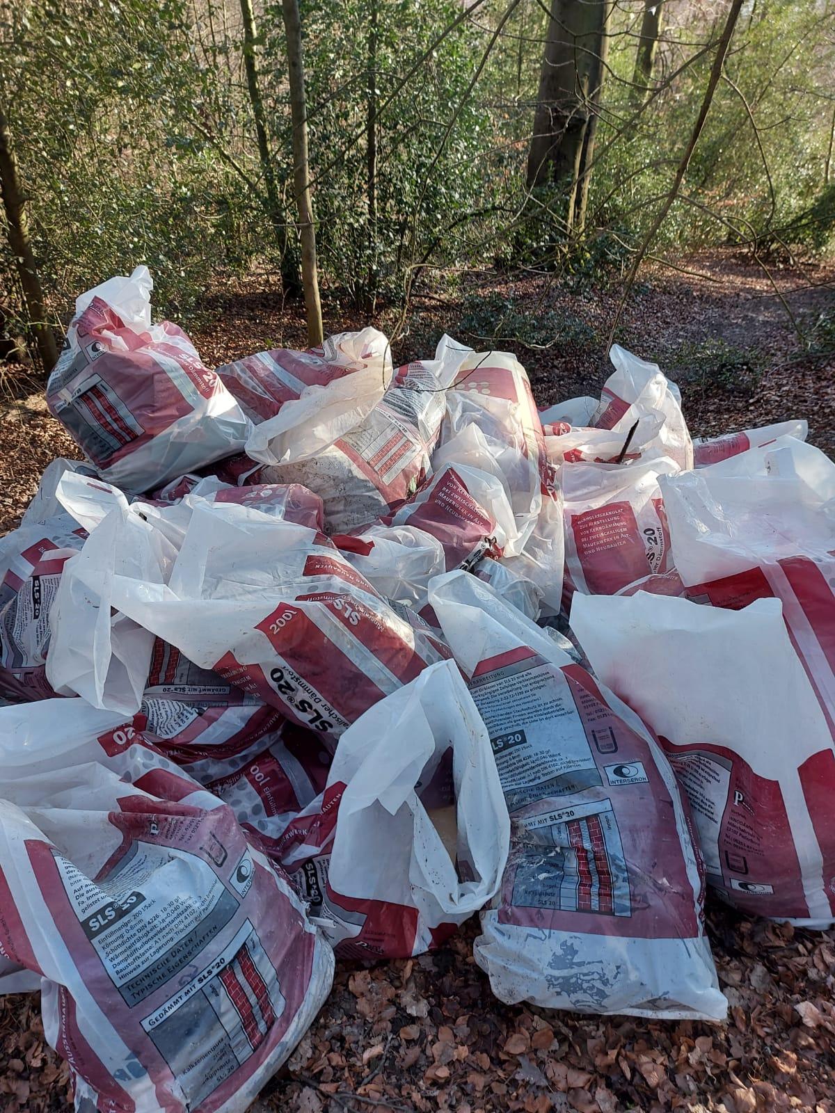 Bau-Müllentsorgung