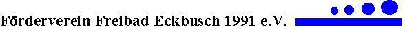 Freibad Eckbusch