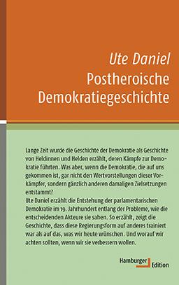 Cover, Postheroische Demokratiegeschichte