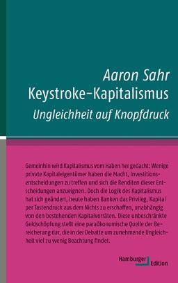 Cover, Sahr, Keystroke-Kapitalismus