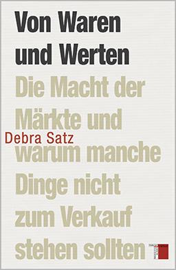Cover, Satz, Von Waren und Werten