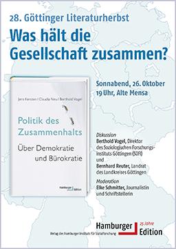 Plakat, Göttinger Literaturherbst