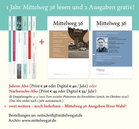 Mittelweg36 Sommerangebot