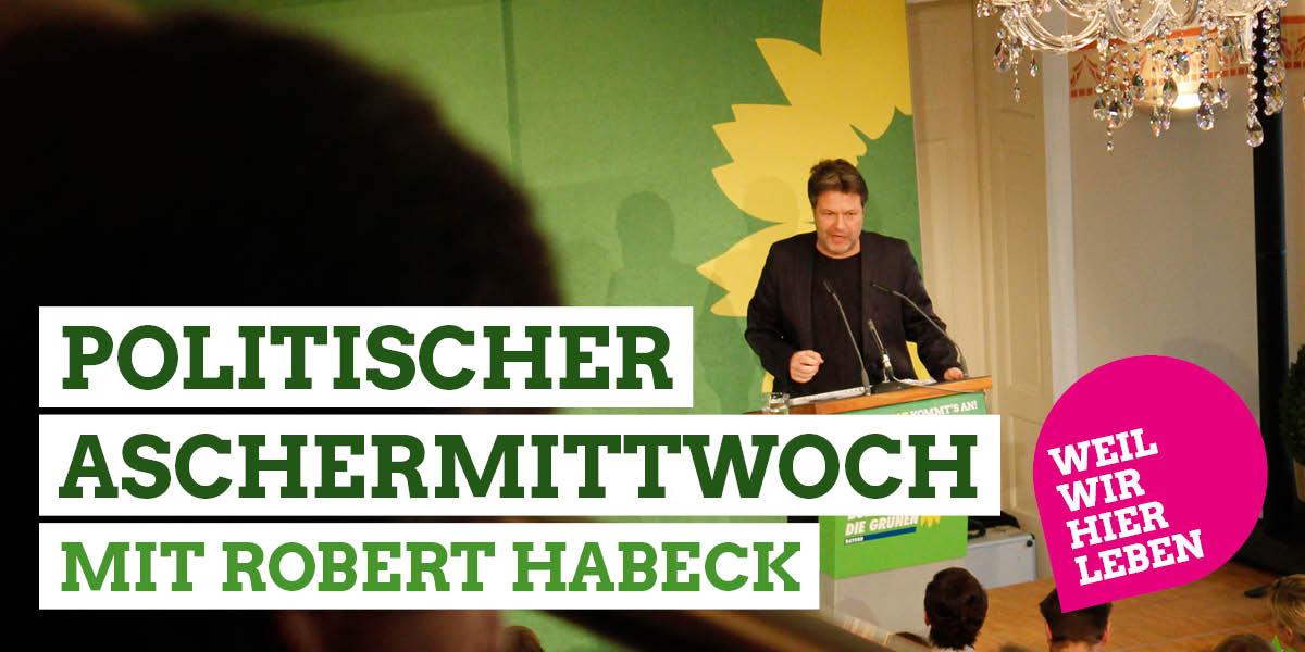 Robert Haeback kommt zum Politischen Aschermittwoch