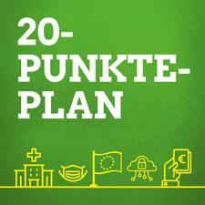 20-Punkte-Plan zur Bekämpfung der Corona-Krise
