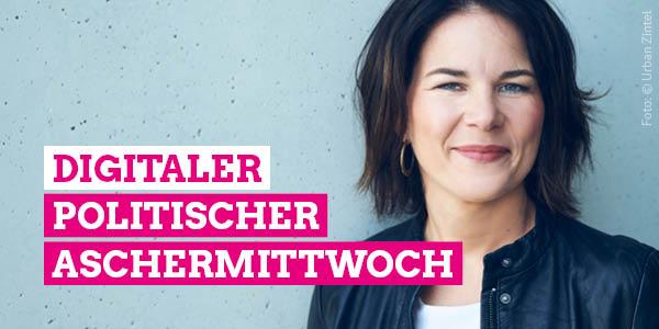 Annalena Baerbock beim Digitalen Aschermittwoch 2021