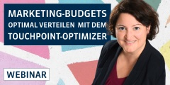 Marketing-Budgets optimal verteilen mit dem TouchPoint-Optimizer