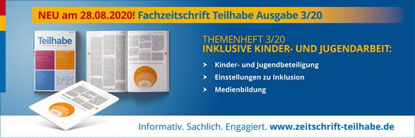 Fachzeitschrift Teilhabe