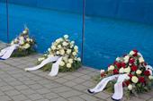 Kranzniederlegung zum Gedenktag am 27.01.21