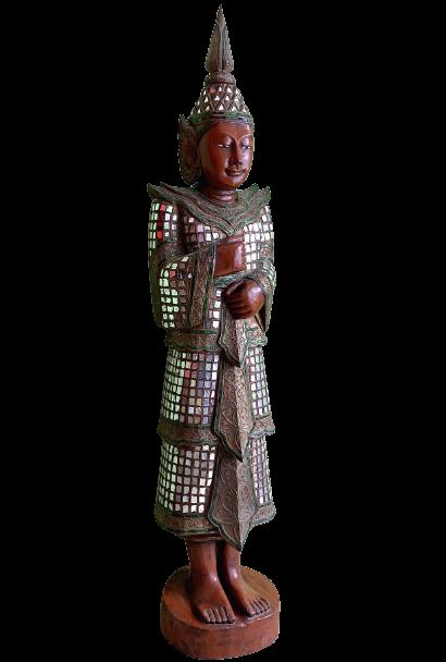 Tempelwächter Figur