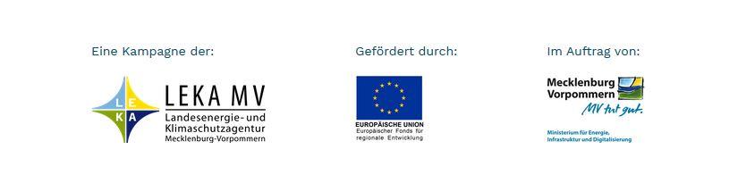 Eine Kampagne der: LEKA MV, gefördert durch die EU, im Auftrag vom Land Mecklenburg-Vorpommern