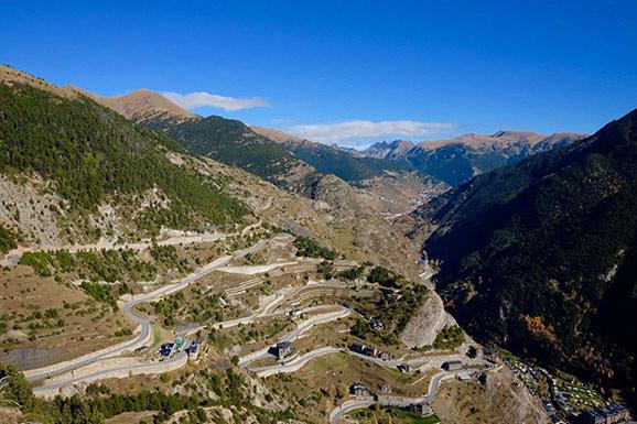 Andorra Pässe Woche
