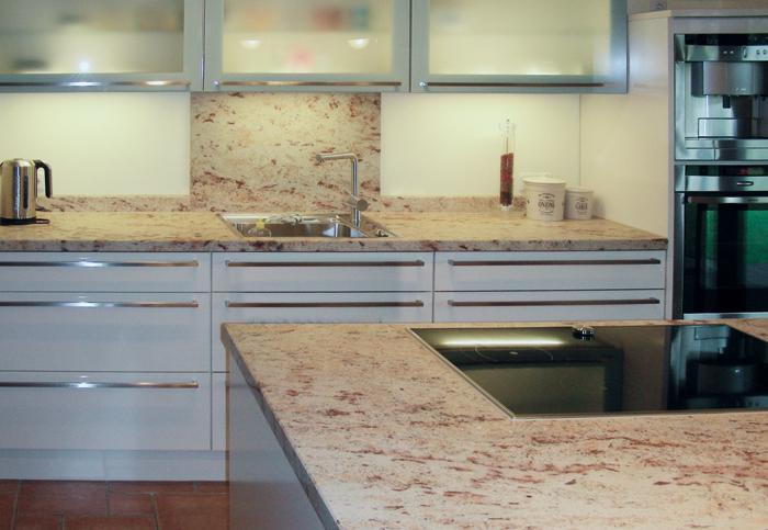 Küche Ivory Brown