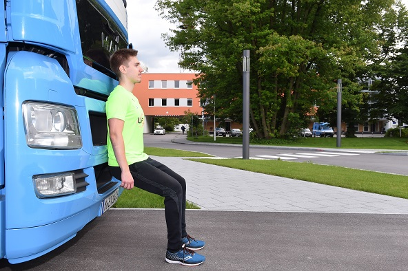 LAUF10!-Trainer Felix / Foto: BR