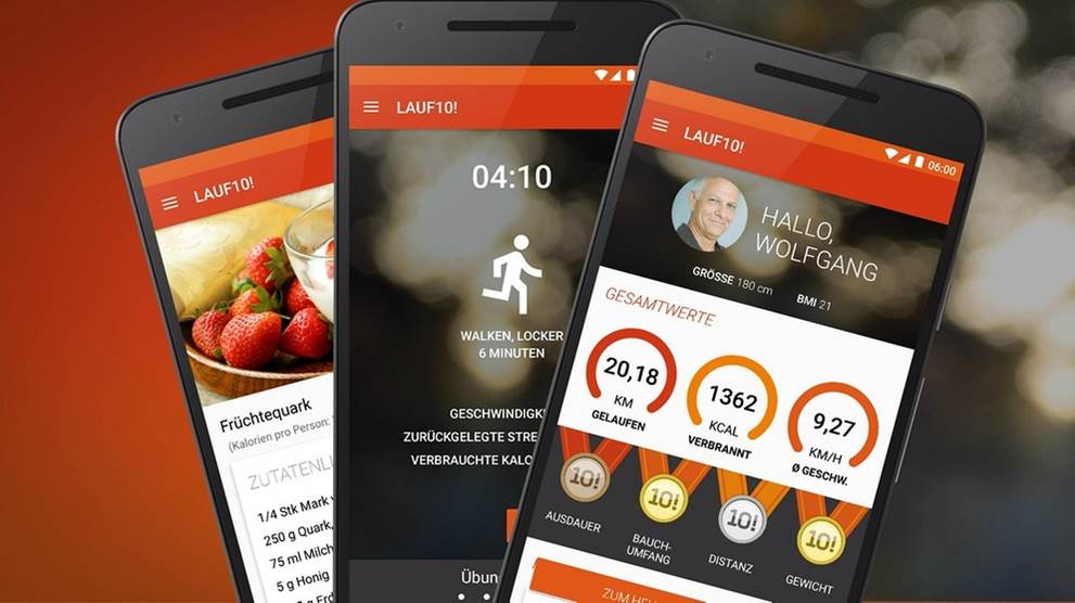 LAUF10!-App