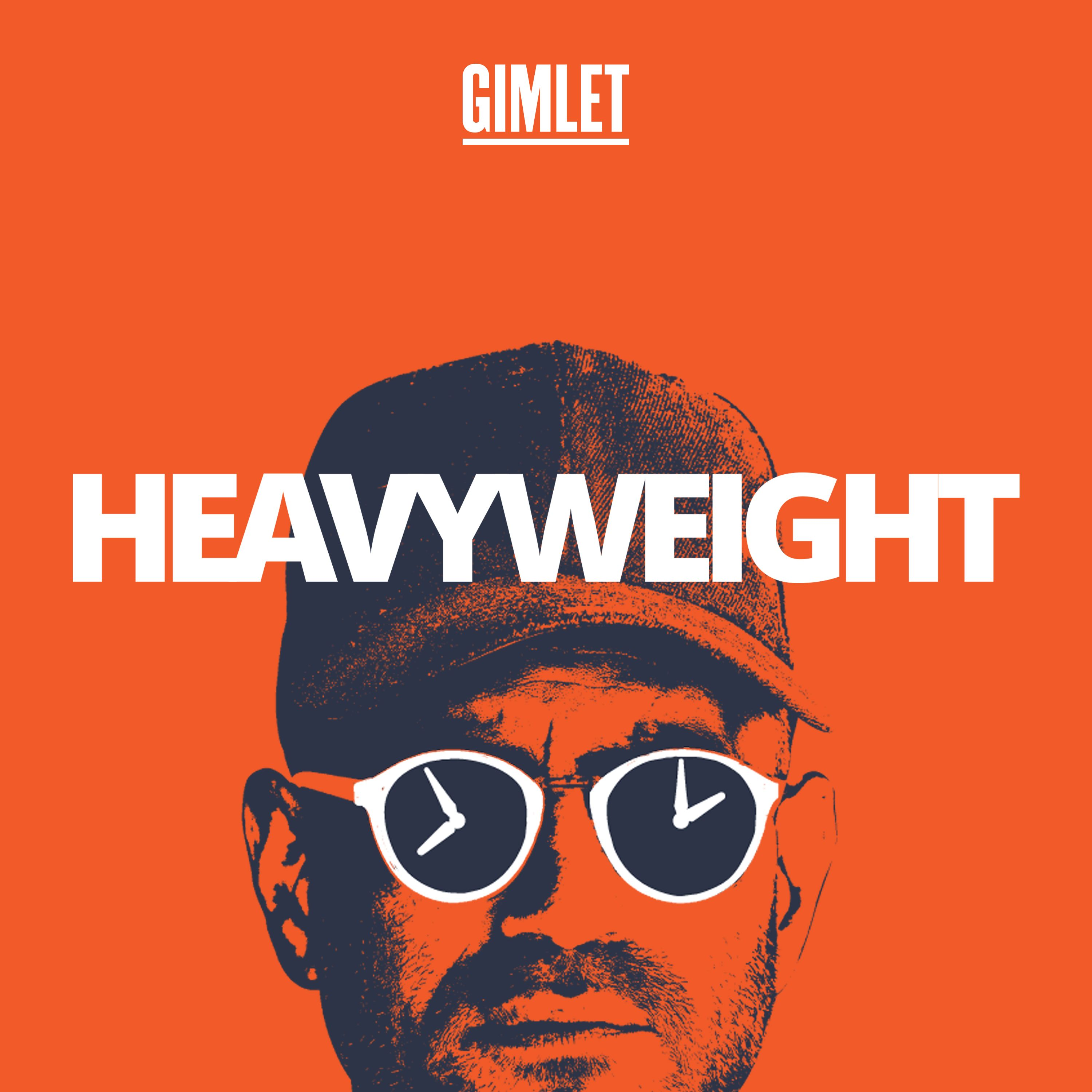 """Podcastcover """"Heavyweight"""""""