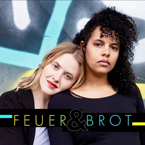 Bild: Podcast Logo Feuer & Brot