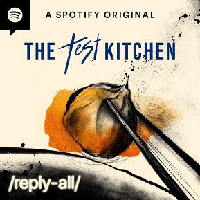 Bild: Podcast Logo Reply All The Test Kitchen