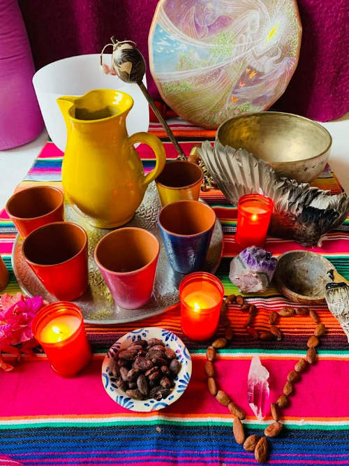 Devah Cacaozeremonie Marion