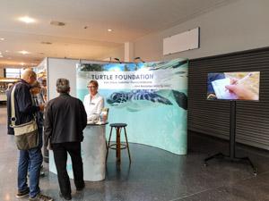 Die Turtle Foundation auf der InterDive in Friedrichshafen, September 2019