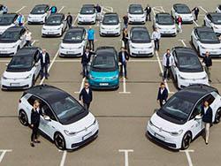 E-Auto-Flotte
