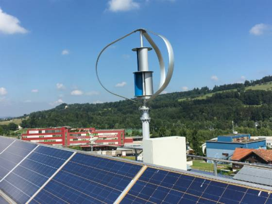 Hybride Energie Lösung