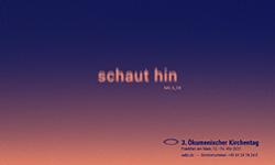 Ökumenischer Kirchentag 2021 - Schaut hin