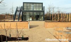 Lehrgarten im Bau  LGS 2020