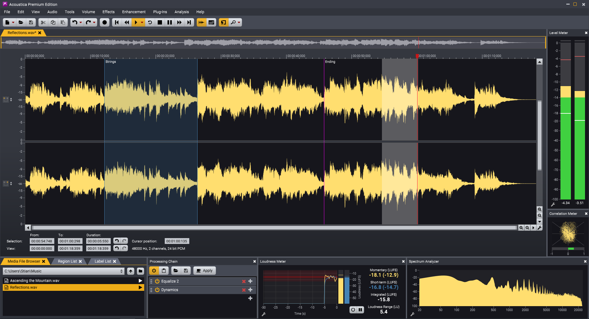 Acoustica Premium Edition 7.1