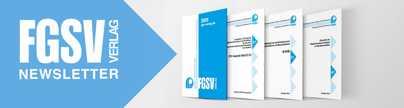 Newsletter FGSV Verlag