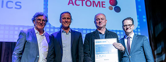 CyberOne Award für Spin-off Actome