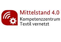 Logo textil vernetzt