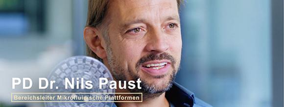 FilmStill Nils Paust mit LabDisk