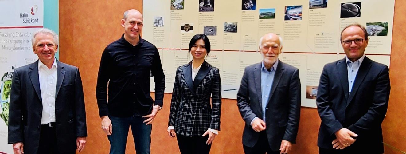 Gründerteam Hahn-Schickard International