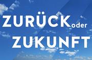 """Logo der Veranstaltungsreihe """"Zurück oder Zukunft"""""""
