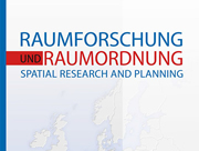 Cover Raumforschung und Raumordnung | Spatial Research and Planning