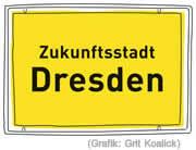 Logo der Zukunfststadt Dresden